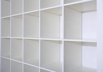 Empty Bookcase Art Print by Wladimir Bulgar
