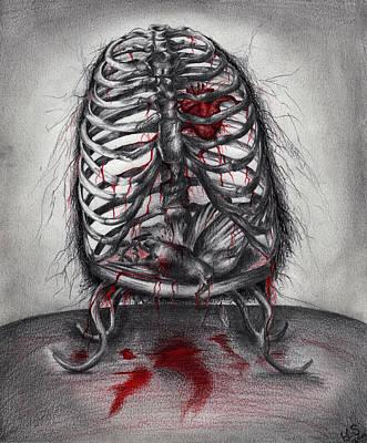 Empty Cage Art Print by Leia Sopicki