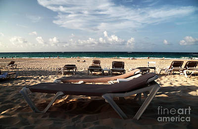 Empty Chairs Photograph - Empty Chair by John Rizzuto