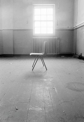Empty Chair Art Print by Larry Dunstan/science Photo Library