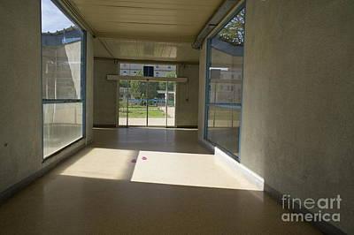 Healthcare And Medicine Photograph - Empty Corridor At Public Hospital by Sami Sarkis