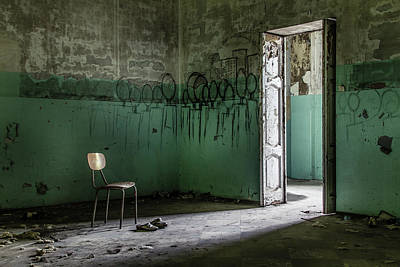 Empty Chairs Photograph - Empty Crazy Spaces by Marco Tagliarino