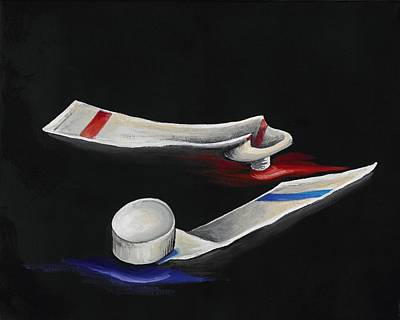 Painting - Empty by David Junod