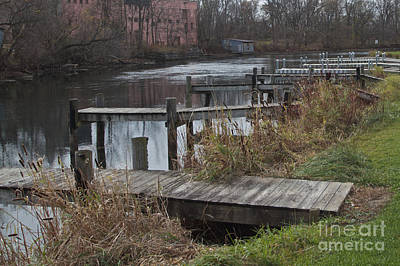 Photograph - Empty Docks by William Norton