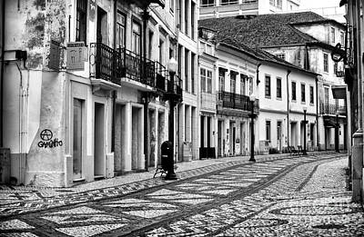 Photograph - Empty In Aveiro by John Rizzuto