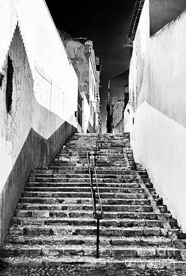 Photograph - Empty In Lisbon by John Rizzuto