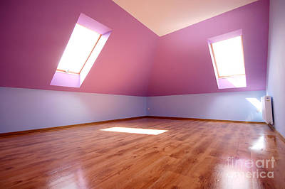 Sunny Photograph - Empty Interior by Michal Bednarek
