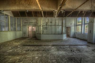 Glass Wall Digital Art - Empty Kitchen by Nathan Wright