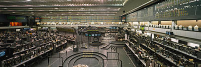 Empty Mercantile Exchange, Chicago Art Print by Panoramic Images