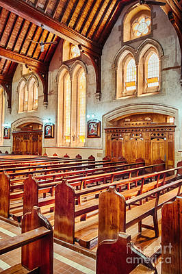 Photograph - Empty Pews by Ray Warren