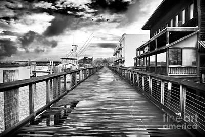 Photograph - Empty Pier by John Rizzuto
