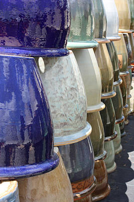 Designers Choice Photograph - Empty Pots  by Miguelito Iglesias