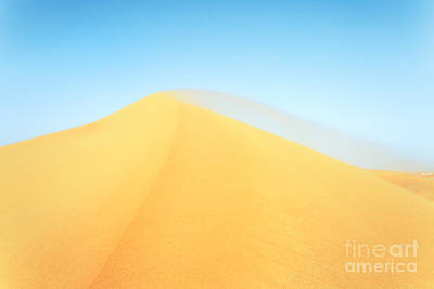 Empty Quarter Photograph - Empty Quarter Desert - Emirates by Matteo Colombo