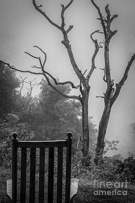 Photograph - Empty Rocker In Clouds by David Waldrop
