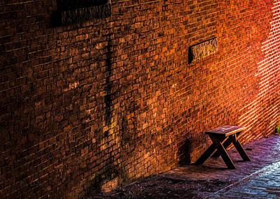 Empty Seat On A Hill Art Print by Bob Orsillo