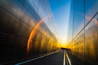 911 Memorial Photograph - Empty Sky by Kristopher Schoenleber