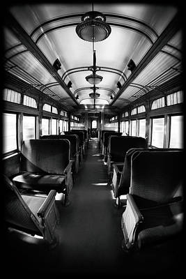 Photograph - Empty Streetcar by Edser Thomas