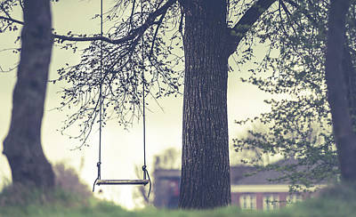 Photograph - Empty Swing by Jenny Rainbow