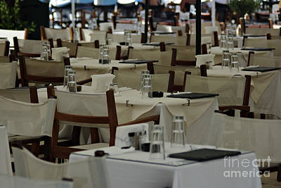 Empty Tables Original by Zoran Berdjan
