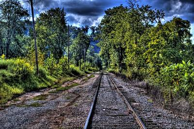 Photograph - Empty Tracks by Jonny D