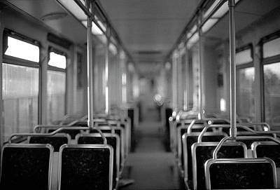 Photograph - Empty Train by Phuong Nguyen