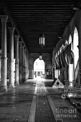 Photograph - Empty Venice Fish Market by John Rizzuto