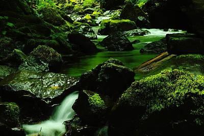 Emerald Pools Art Print