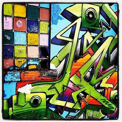 Expression Wall Art - Photograph - En #ríopiedras #sanjuan #graffiti by Jason Velez