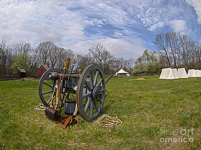 Photograph - Encampment At Jockey Hollow by Mark Miller