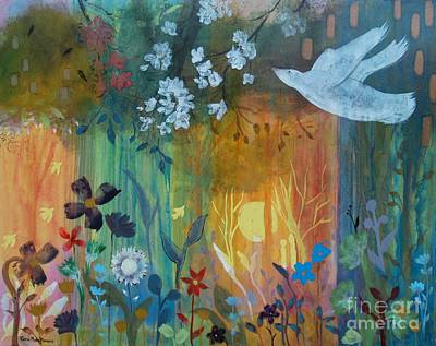 Art Print featuring the painting Encantador by Robin Maria Pedrero