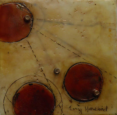 Encaustic #2 Art Print