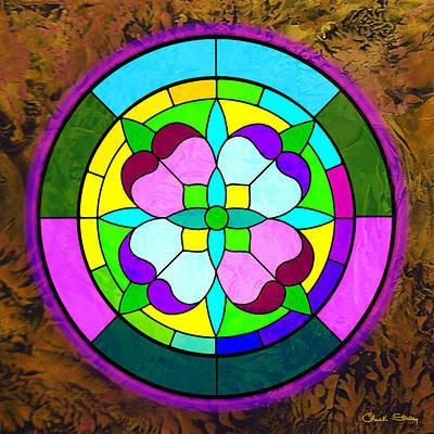 Digital Art - Encaustic 3 by Chuck Staley