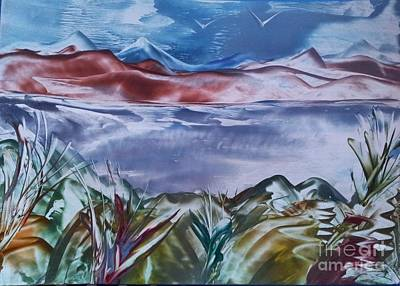 Encaustic Art 2 Art Print by Debra Piro