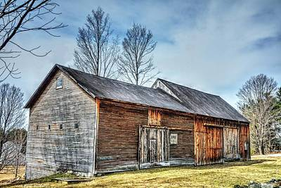 Photograph - Enchanted Barns by John Nielsen