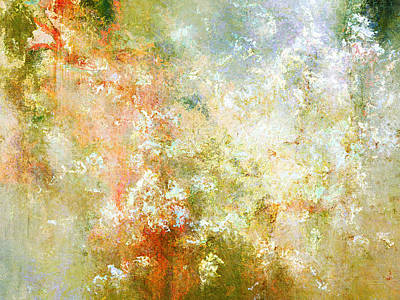 Mixed Media - Enchanted Blossoms - Abstract Art by Jaison Cianelli