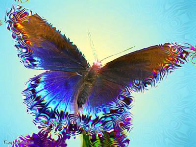 Enchanted Butterfly. Third.   Original
