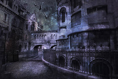 Enchanted Castle Art Print by Evie Carrier