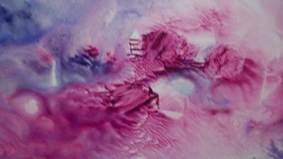 Other Worldly Painting - Enchanted Dreamscape by Sharon Ackley