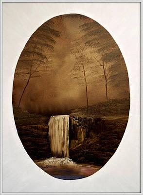 Enchanted Falls Art Print by Joyce Krenson