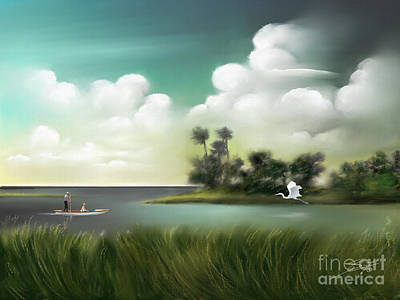 Painting - Enchanted Florida by S G