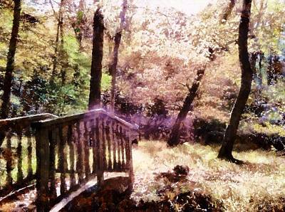 Digital Art - Enchanted Forest by Derek Gedney