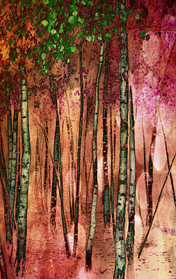 Enchanted Forest Art Print by Stephen Norris