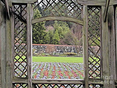 Photograph - Enchanted Garden by George DeLisle