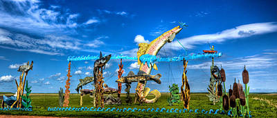 Photograph - Enchanted Highway - Fishermans Dream by Jonny D