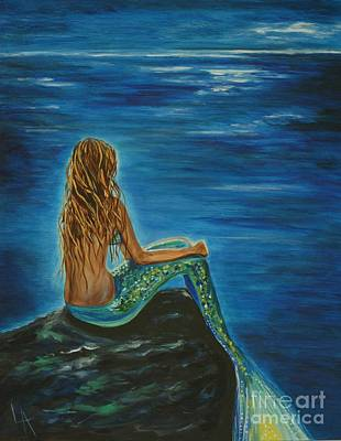 Enchanted Mermaid Beauty Art Print