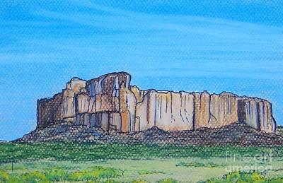 Enchanted Mesa Art Print by Lorita Montgomery