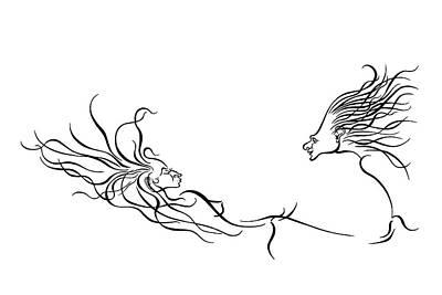 Enchanted Moment Art Print by Dan Redmon