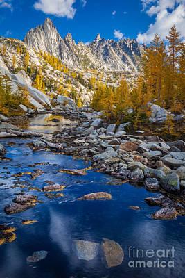 Tamarack Photograph - Enchanted River by Inge Johnsson