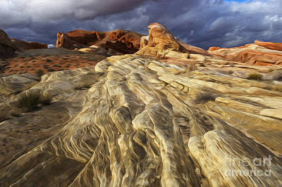 Enchanted Spaces Valley Of Fire Art Print