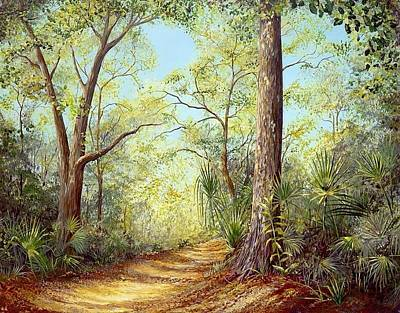 Painting - Enchanted Trail by AnnaJo Vahle